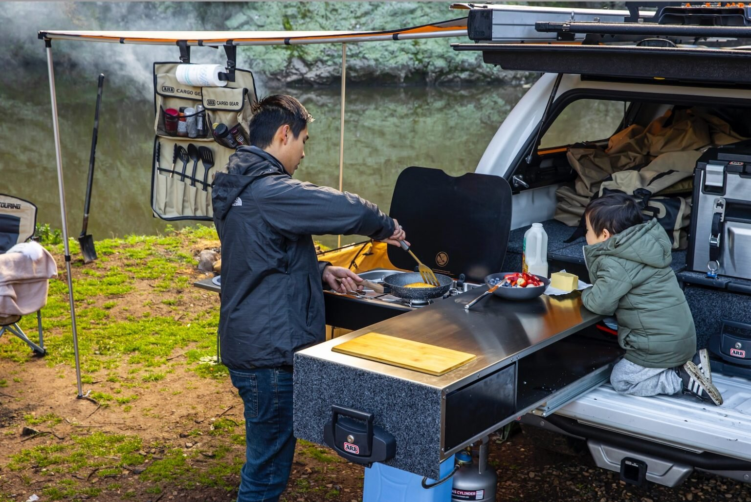 Arb Overland Slide Kitchen Details Features Pricing Overland Expo