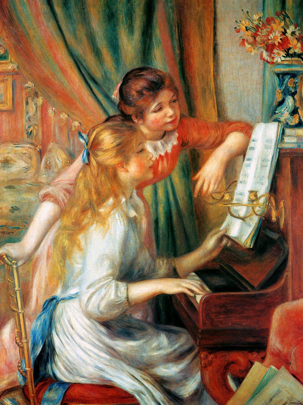 Girls at the Piano 1892