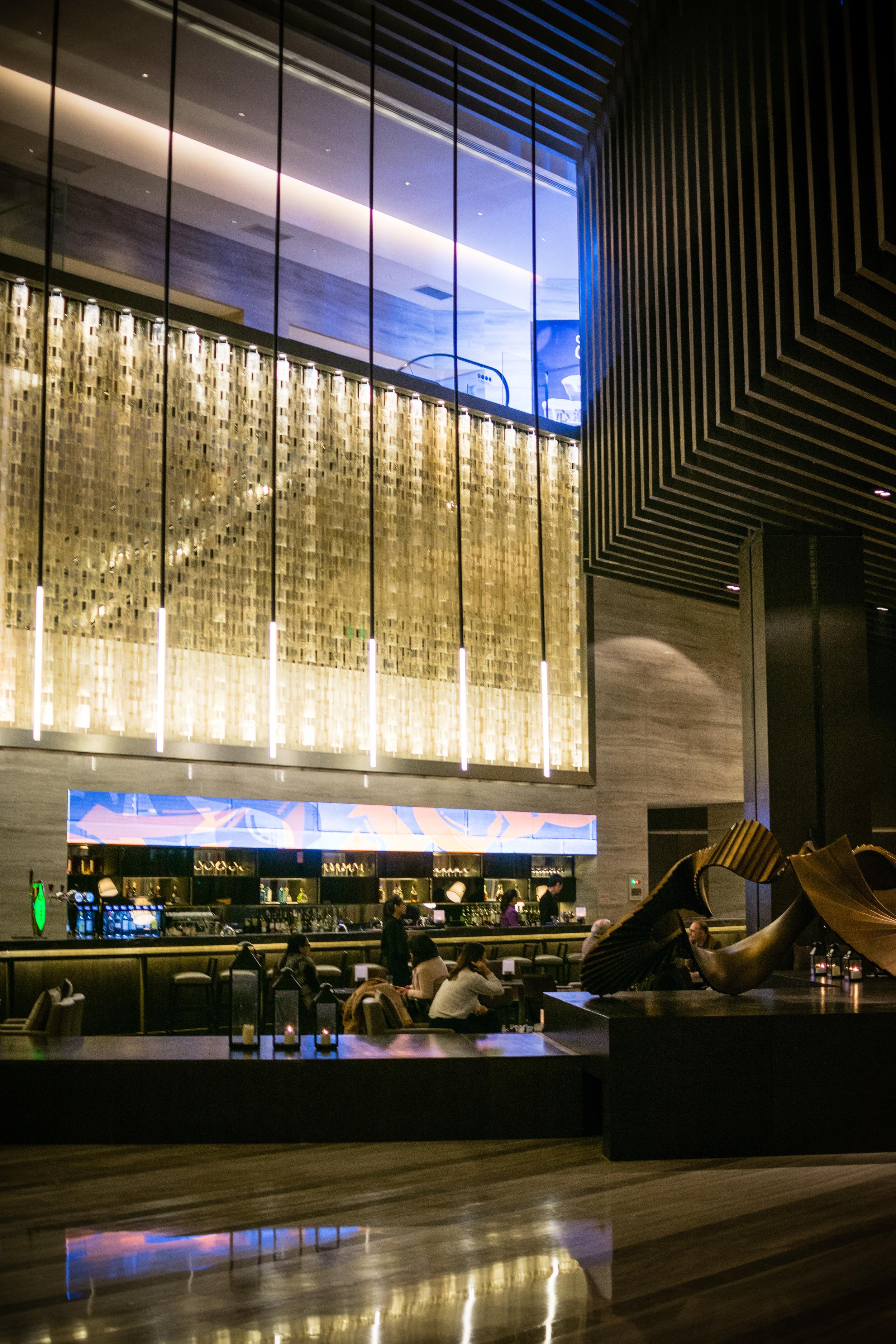 Beijing Jinmao Renaissance Hotel Lobby