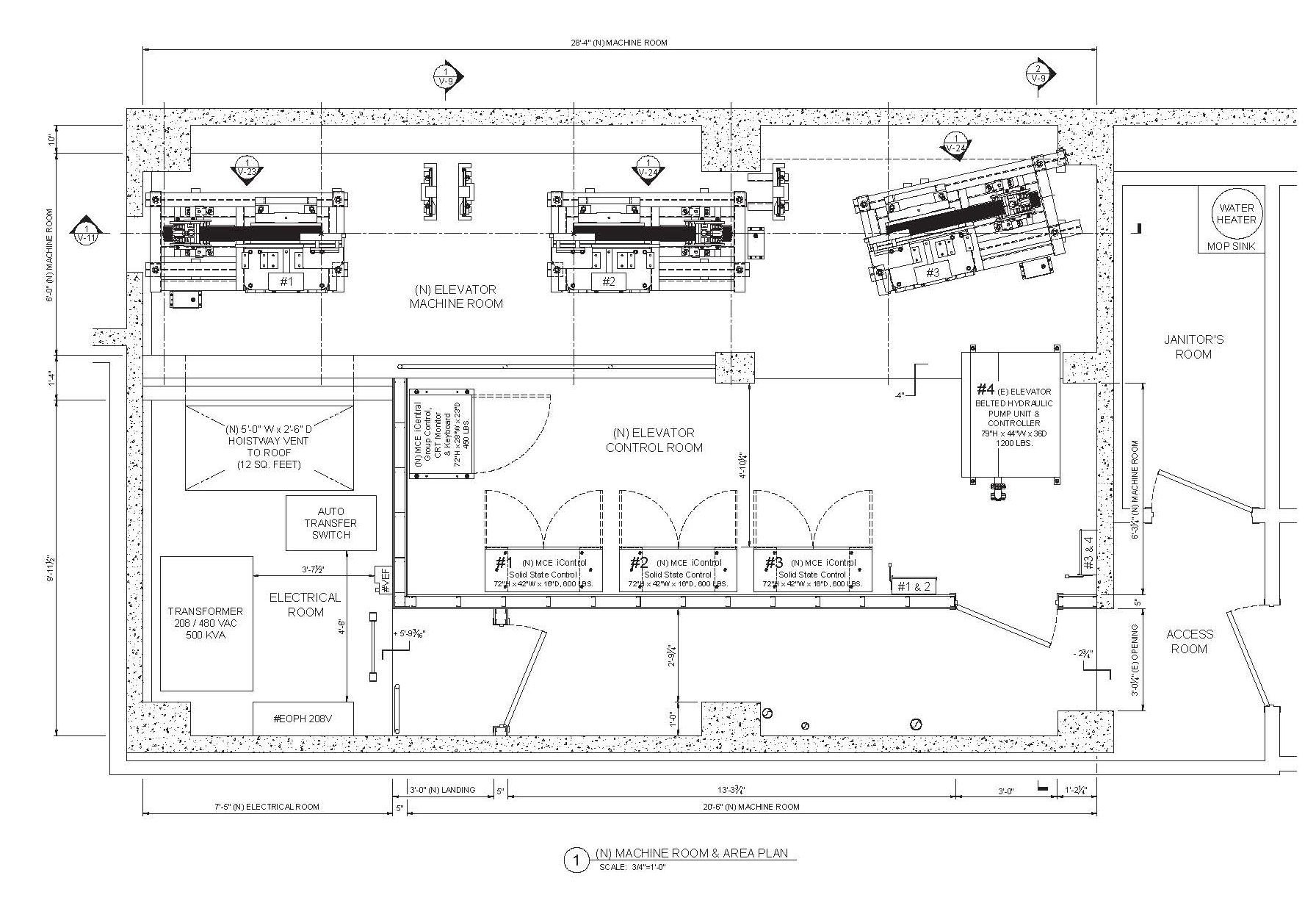 Design drawings by Rich Blaska of RCB Elevator Consulting, LLC.