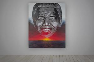 Double Exposure - Mandela