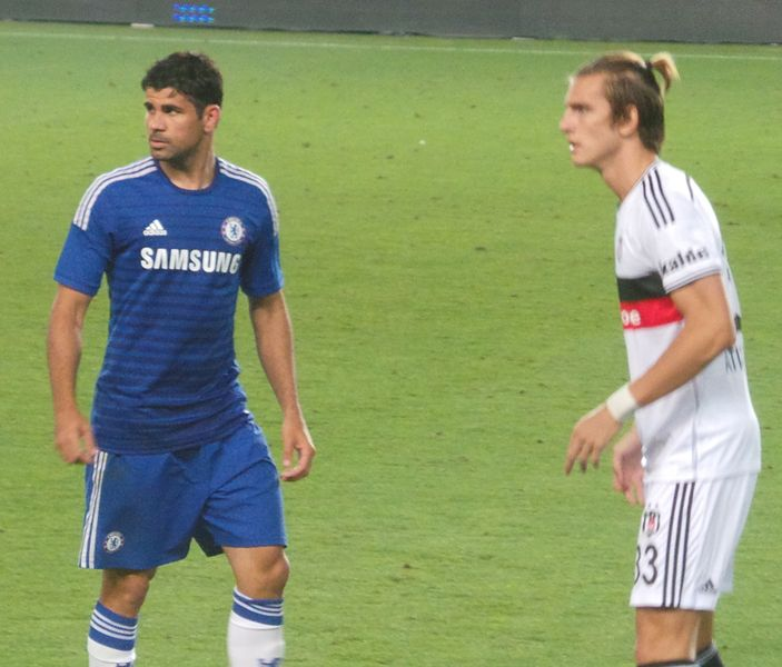 Already the man at Chelsea:  Diego Costa.