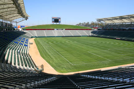 Typical crowd for a Chivas USA match...