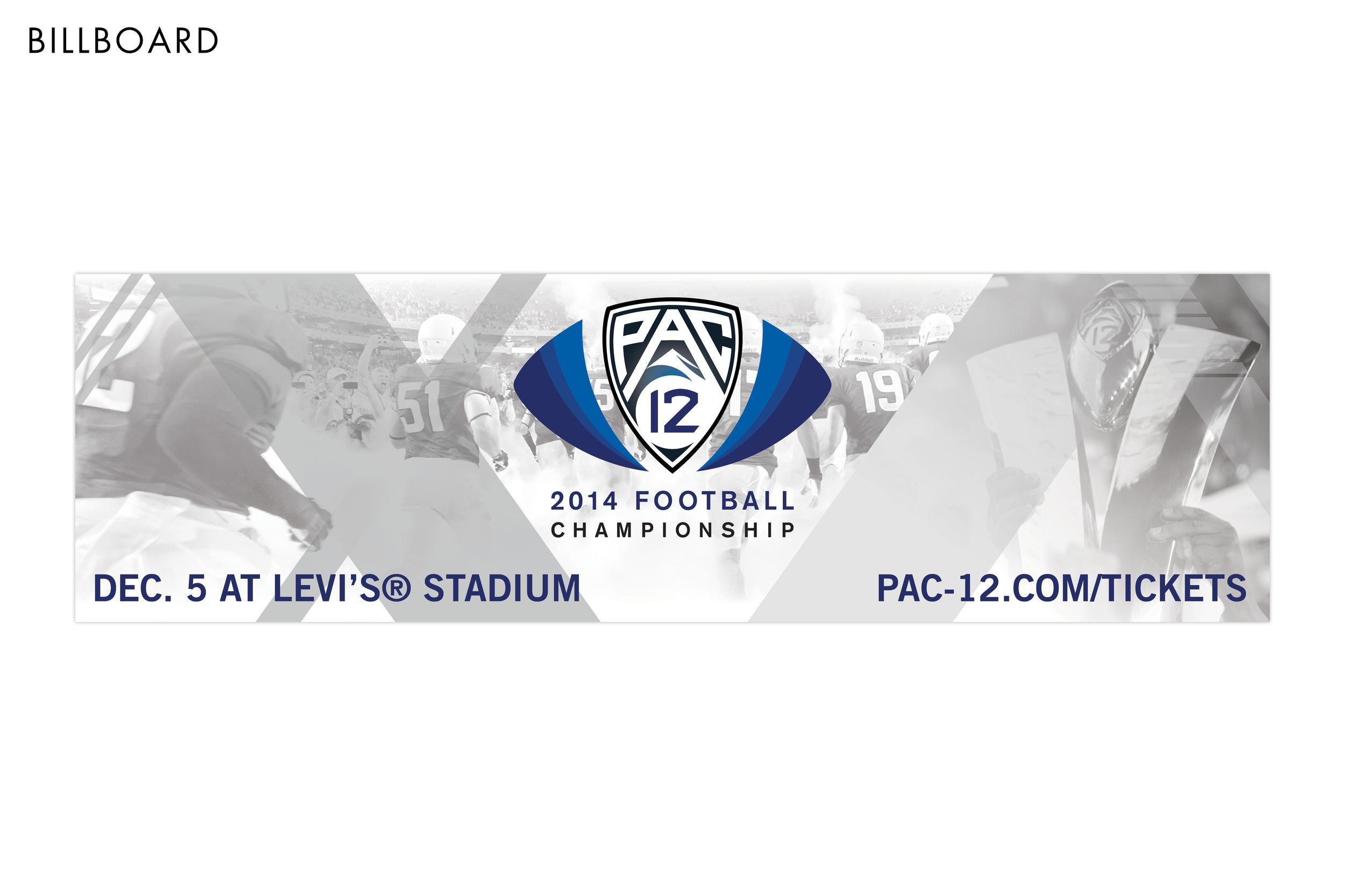 Pac-12 Football Championship Game Billboard