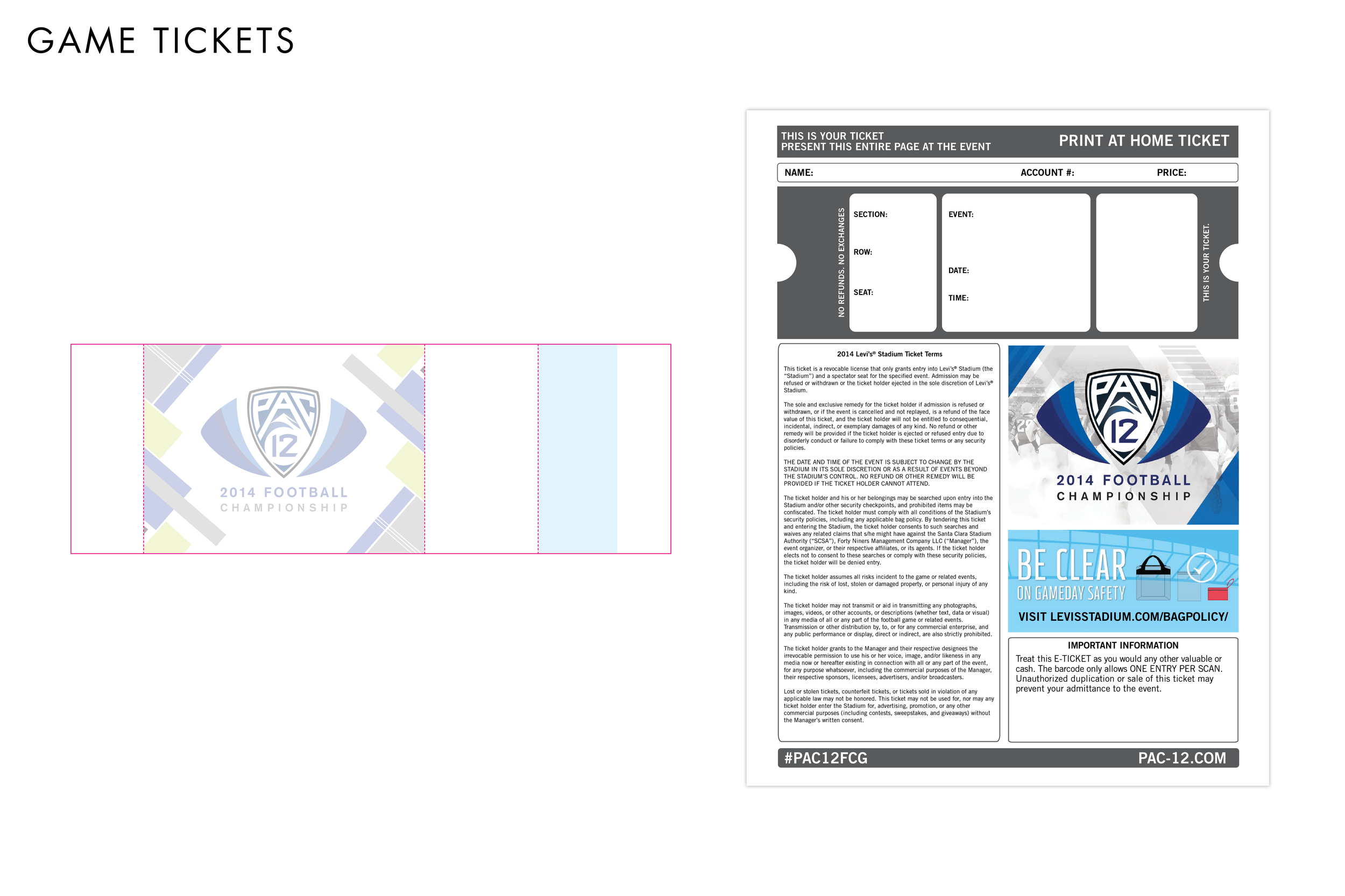 Pac-12 Football Championship Game Tickets