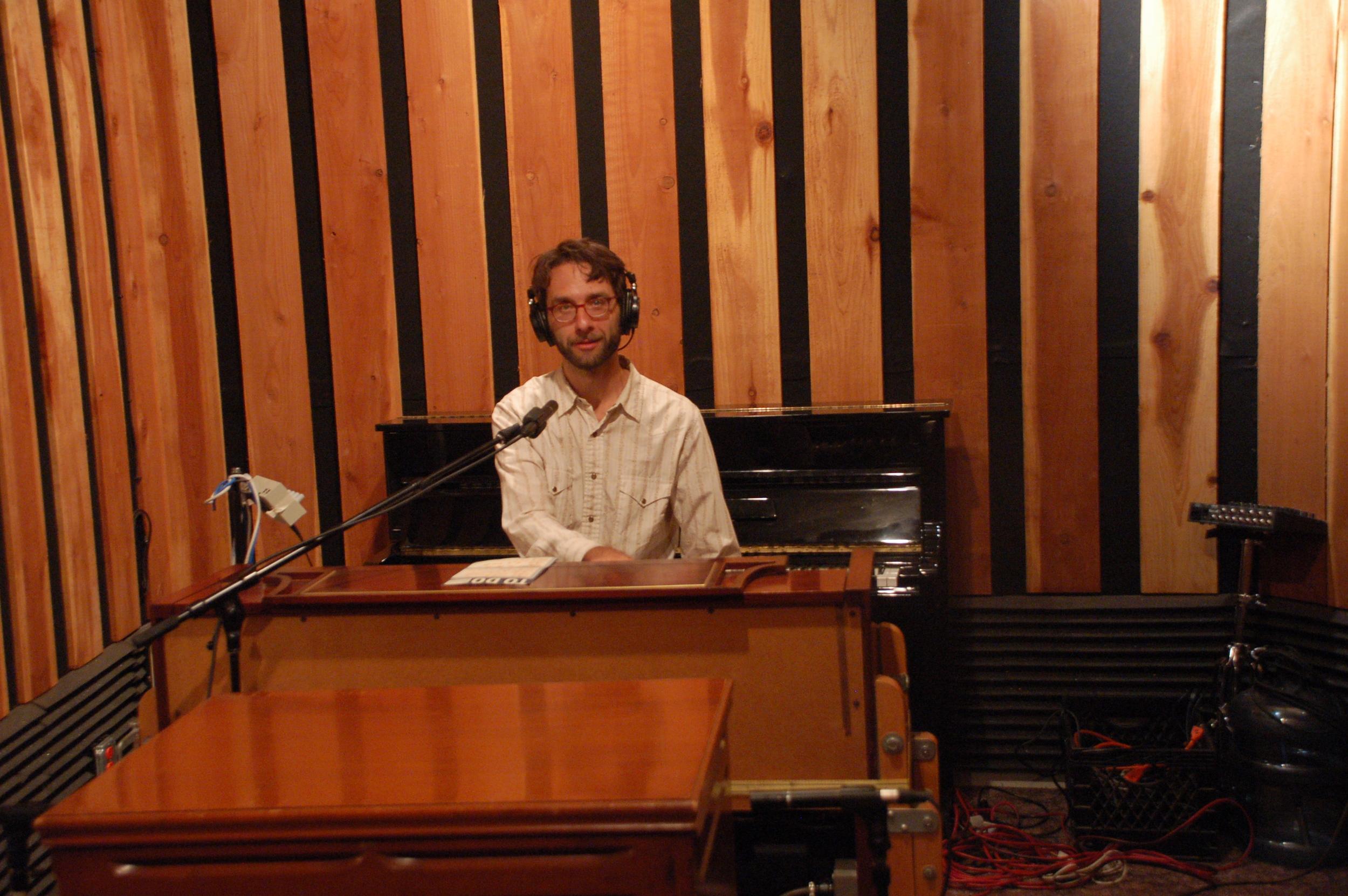 Rob Reich on the Organ.JPG