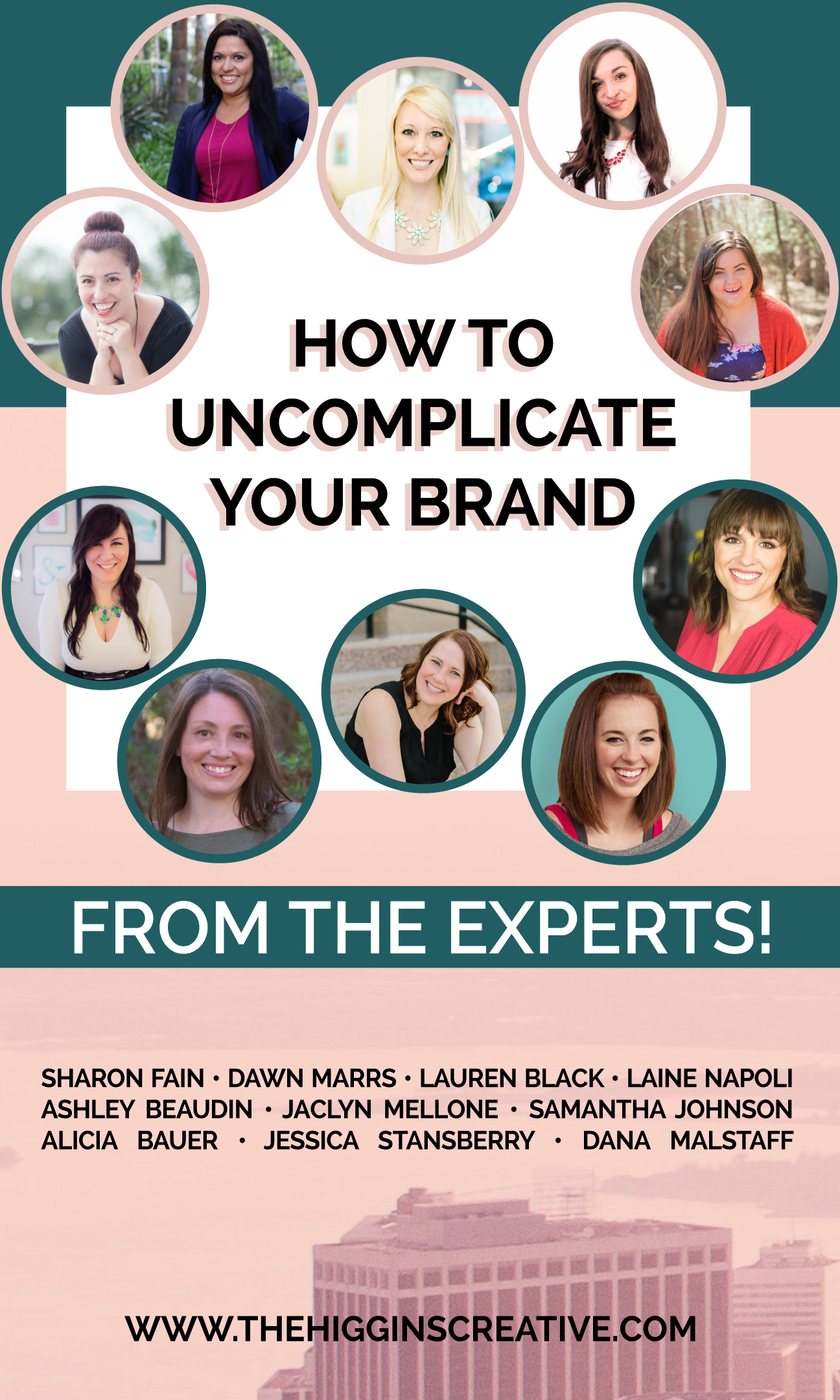How to uncomplicate your brand on The Higgins Creative Journal featuring experts in their industries. Find out how to simplify your brand and get the best visuals by clicking the link.