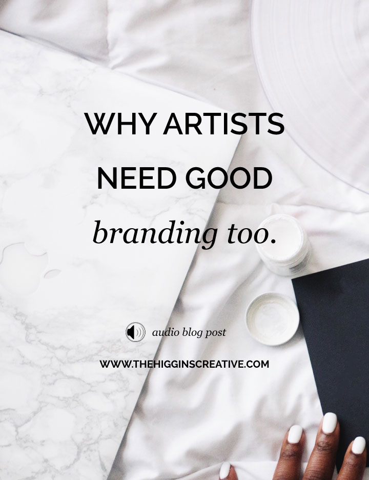 Wondering if you need to be branded as an artist? Click this post to find out why it's important for you.
