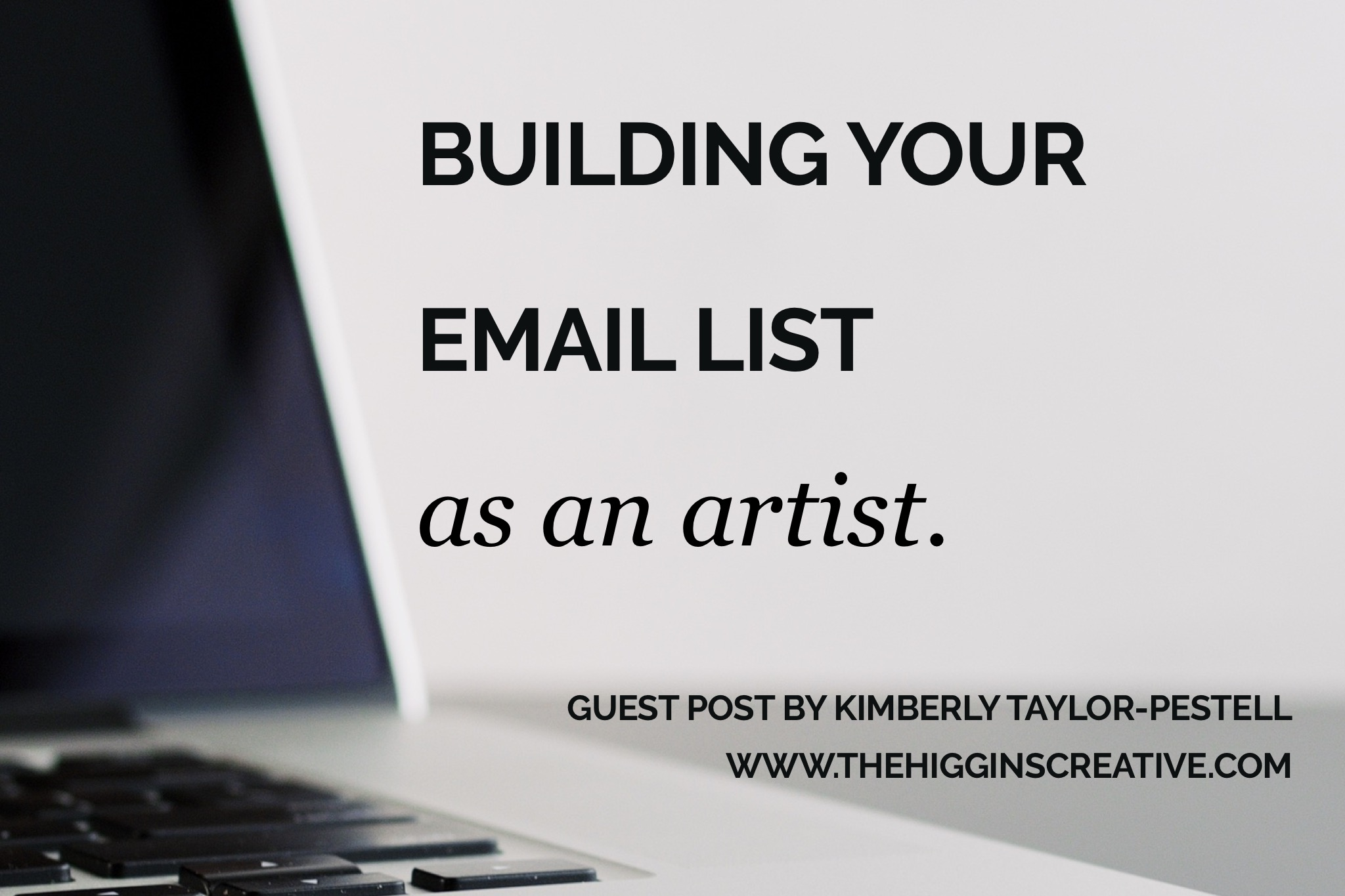 As an artist, blogger and letter-writing enthusiast, communicating in meaningful ways is at the forefront of my mind when engaging in person, over social media or through email. Find out how to build and grow your email list as a maker and artist. For small businesses and boss babes trying to market their art online.