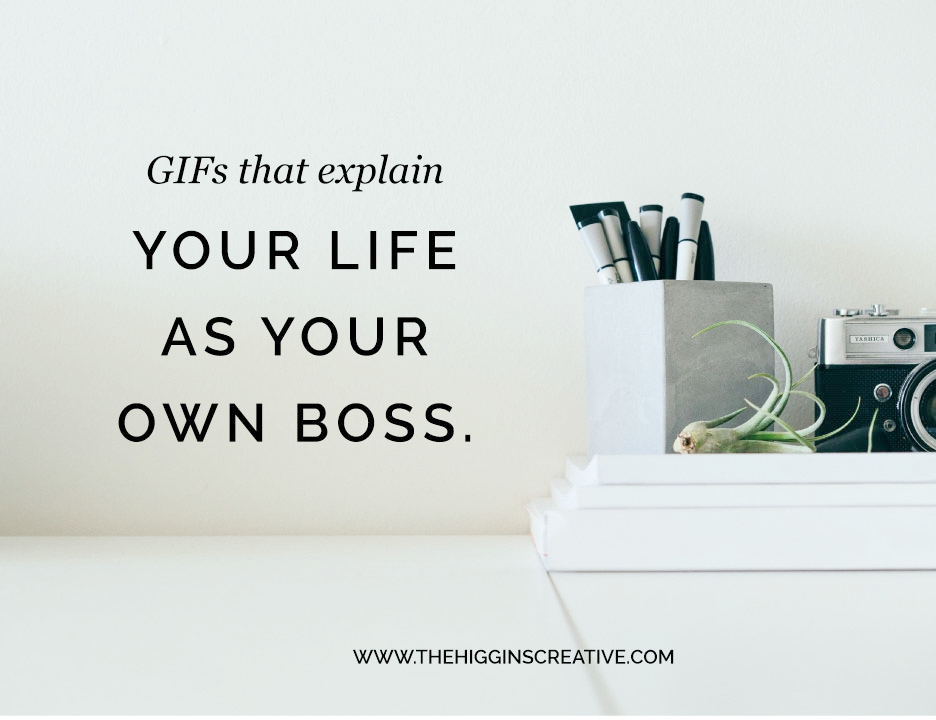 Being your own boss is filled with loads of emotions especially when you first become a freelancer or entrepreneur. Here are GIFs that explain your life as your own boss and they are guaranteed to give you a good chuckle.