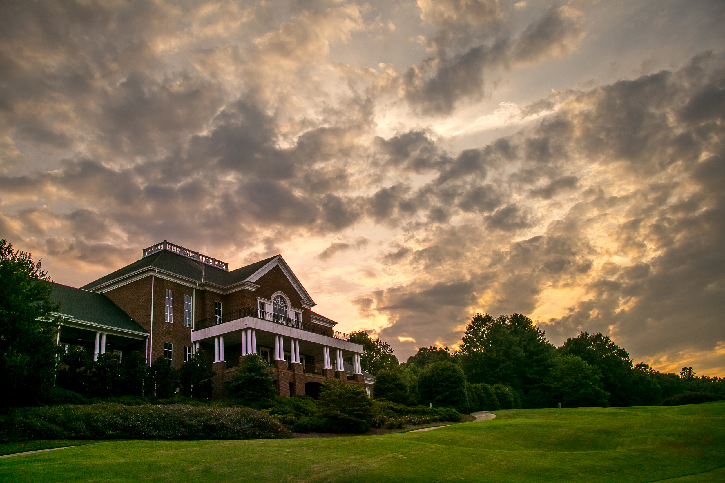 The Clubhouse After A Storm