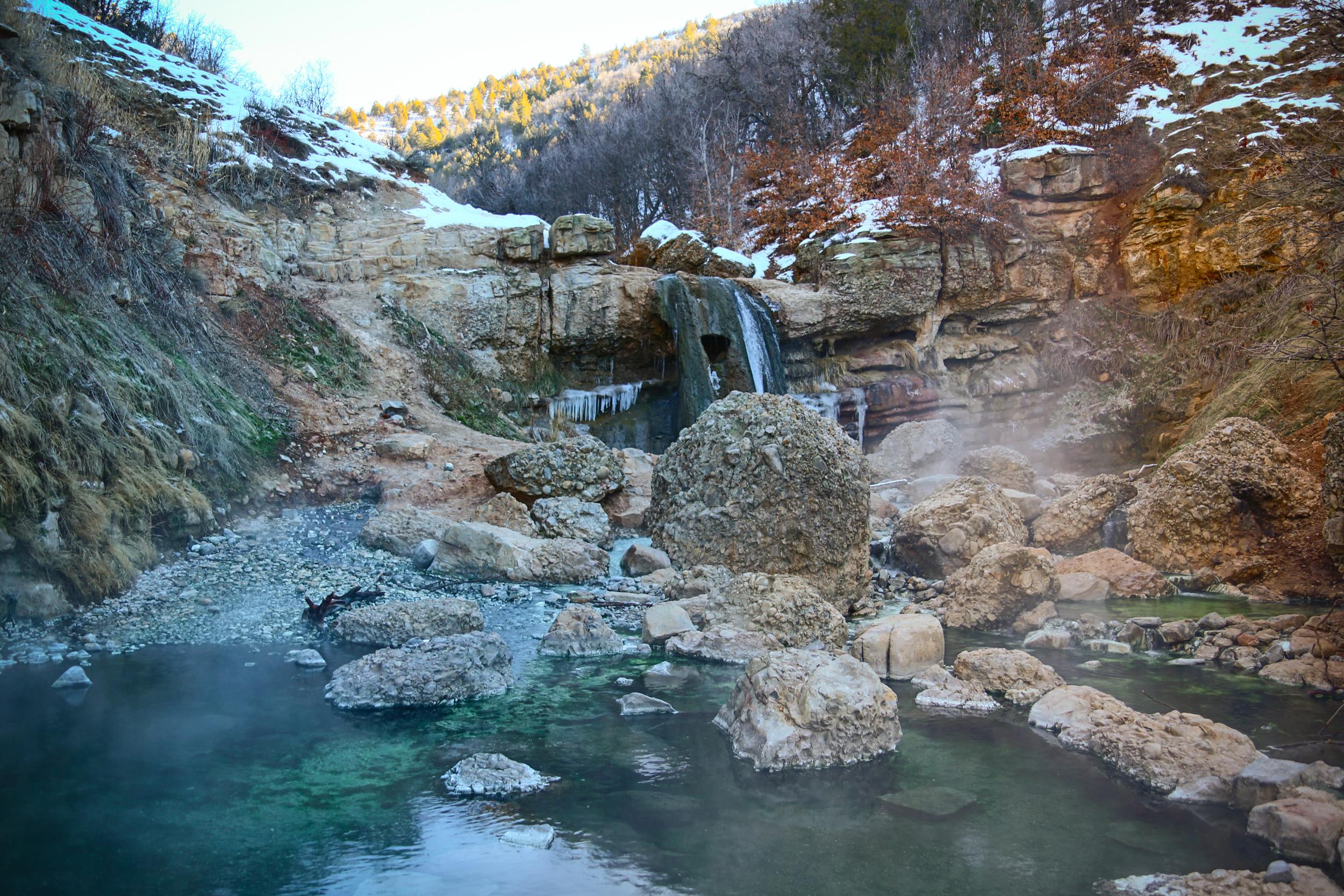 Natural Springs In Utah