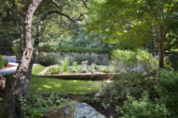 Photo by Rick Scanlan - Garden at the Stanley Tippet Hospice Home