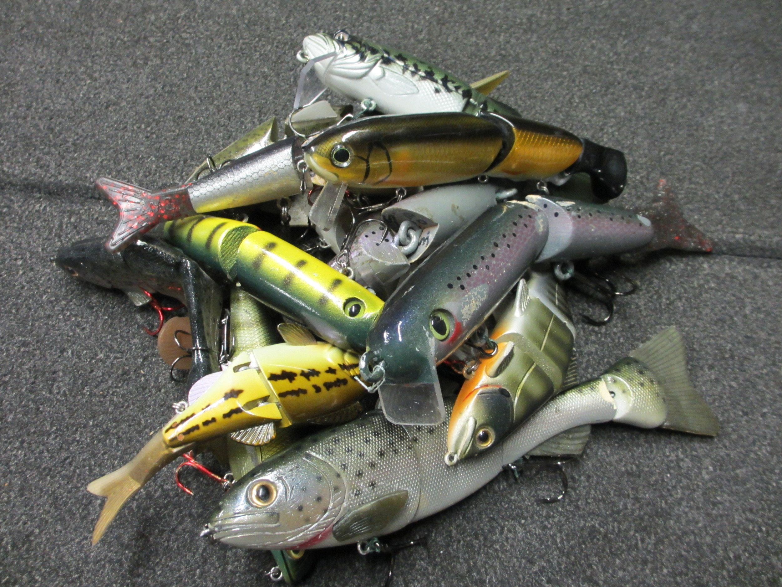 A few of our Favorite Wakebaits