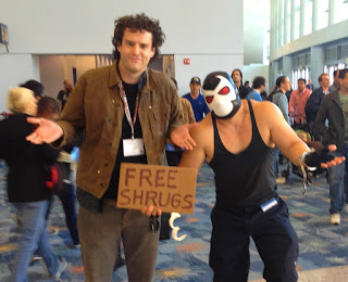Tom shrugs it out with Bane