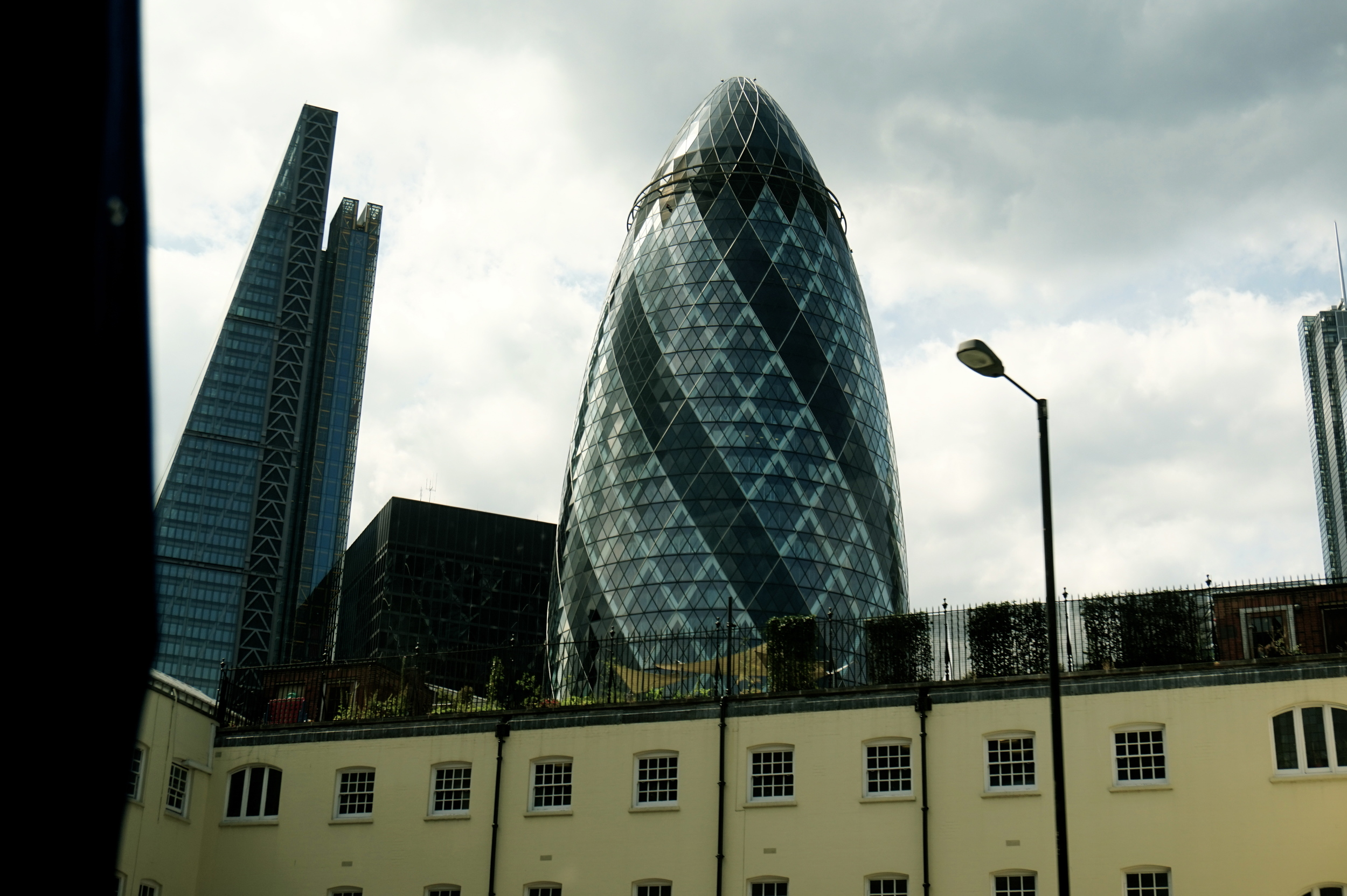 "The Gherkin. Or as the French call it, ""The Suppository"" hehe"