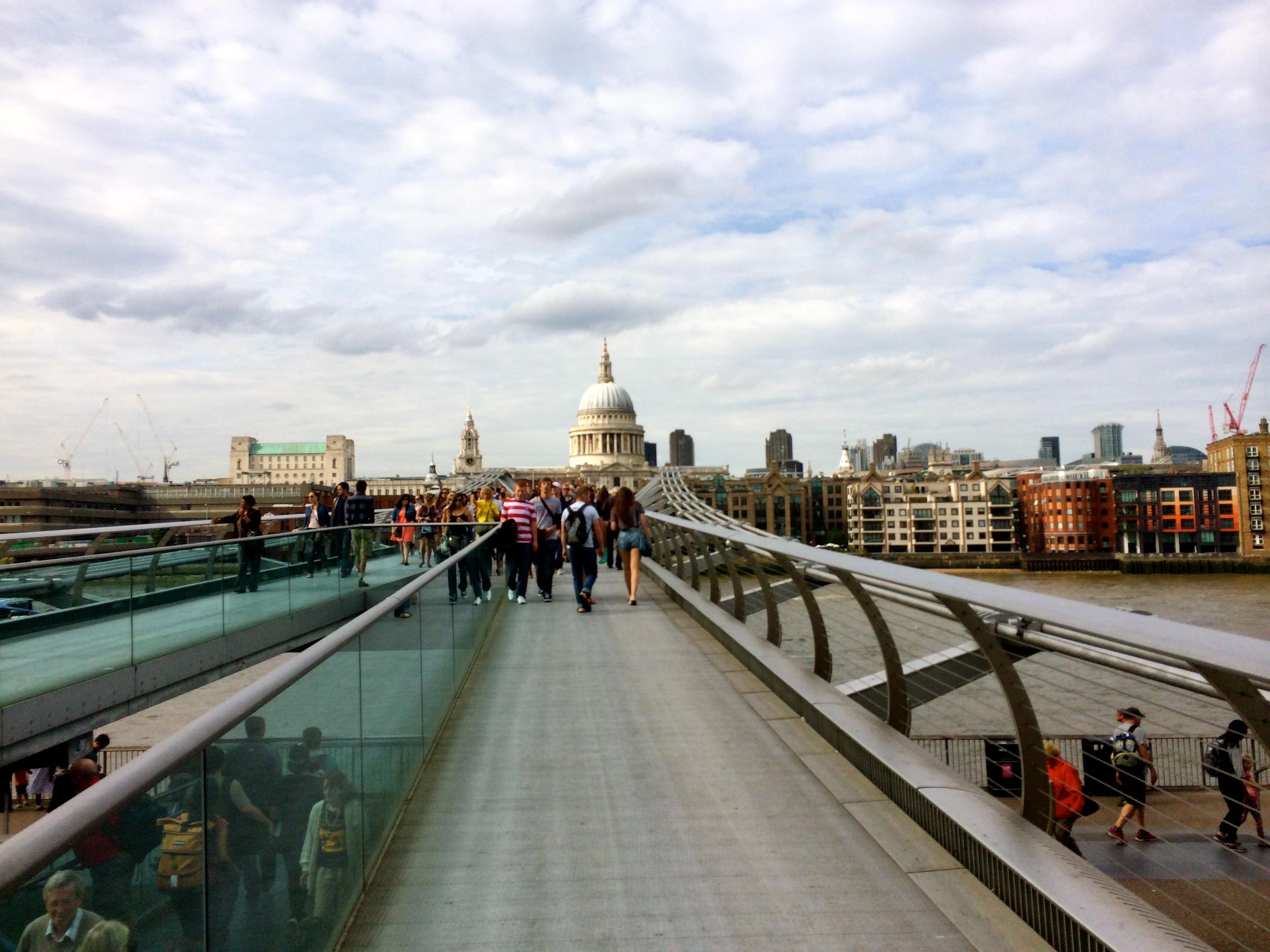 Millennium Bridge to St. Paul's