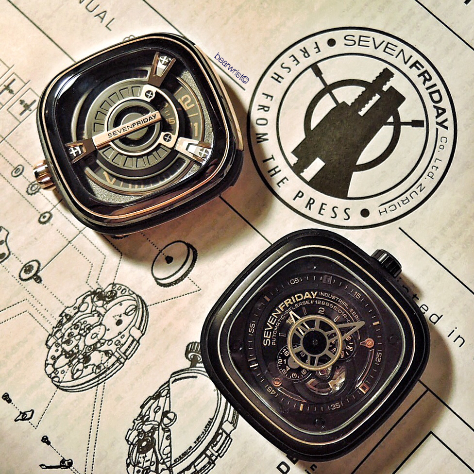 SevenFriday M2-2 and P2-2