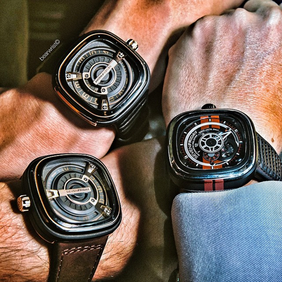 Typical 'Friday' gatherings with Sevenfriday owners