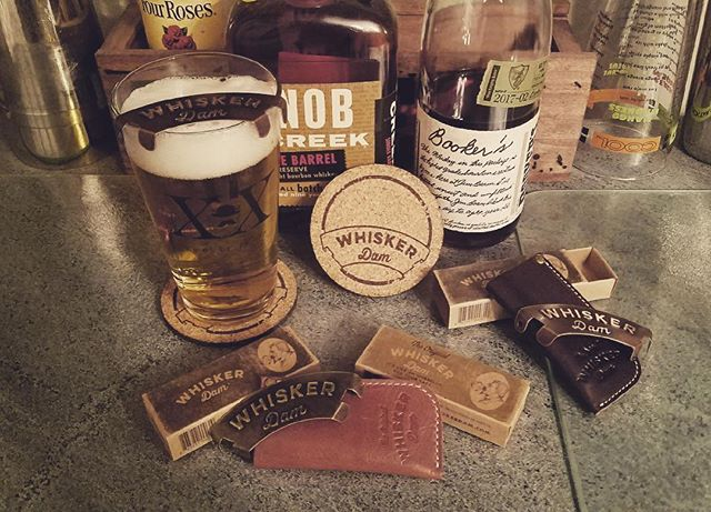 Premium collection. Whiskers and Whiskey. #drinks #whiskerdam #libations #beard #mustache #giftideas #forhim