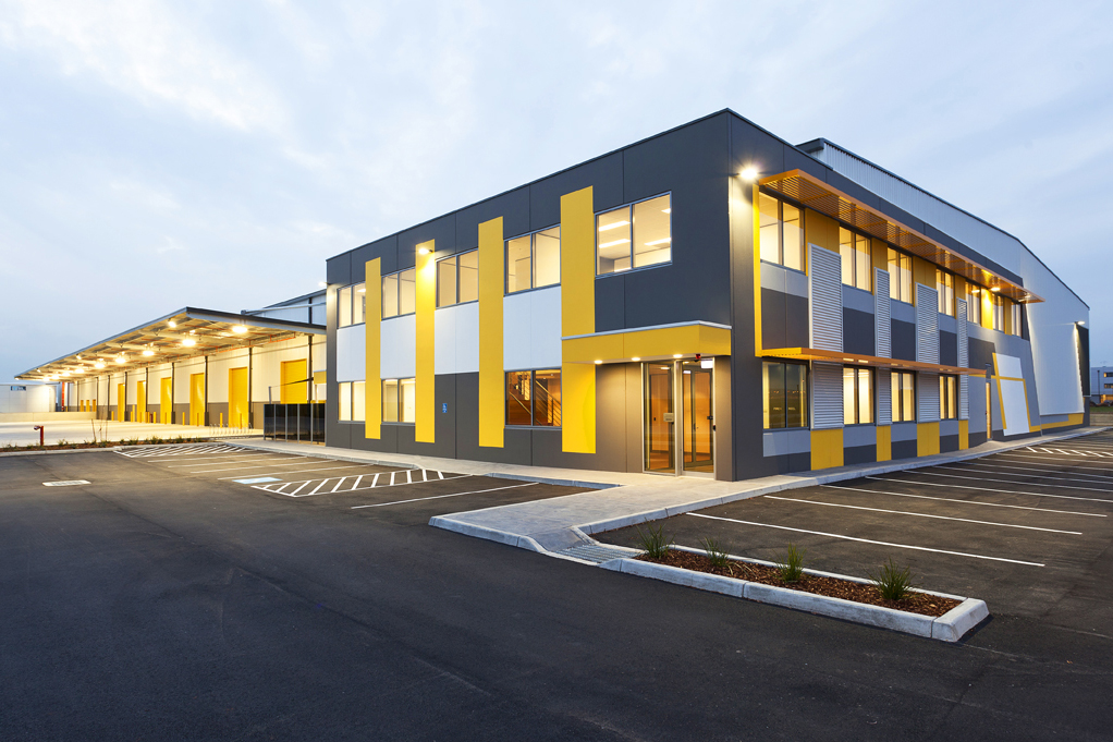Fellowes Warehouse & Office  Melbourne Airport, VIC  8,500m2 Client: Australand