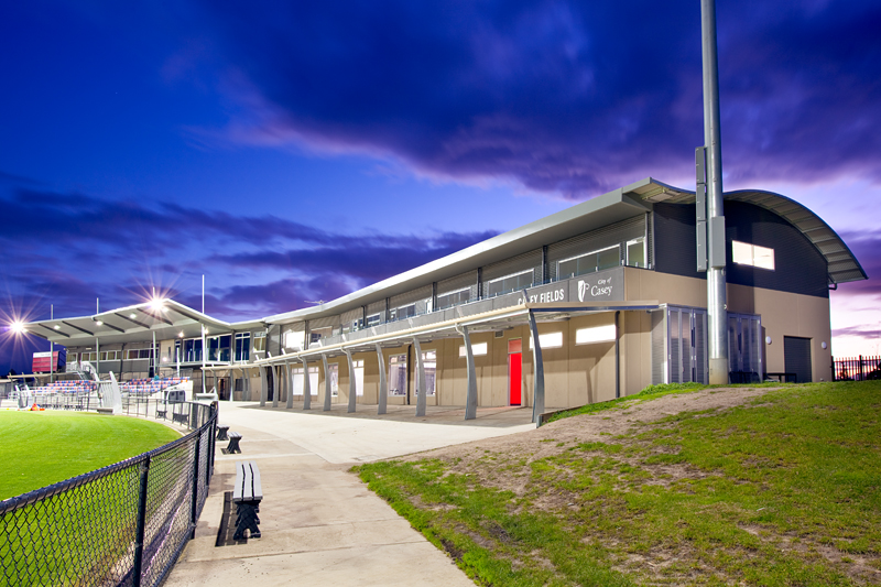Casey Fields Sporting Complex  Cranbourne, VIC  Client: City of Casey