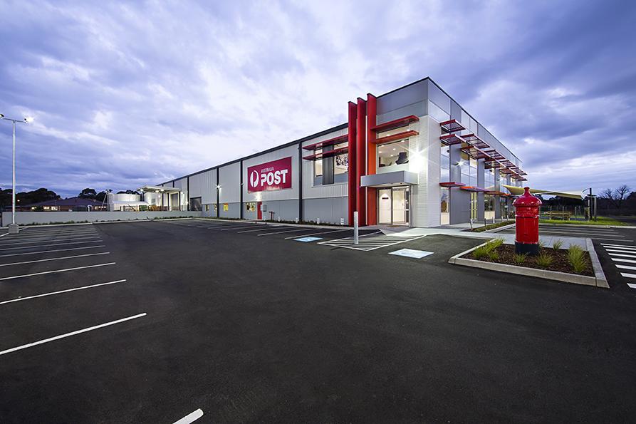 Australia Post Warehoue  Rowville, VIC  6,000m2 Client: Australand