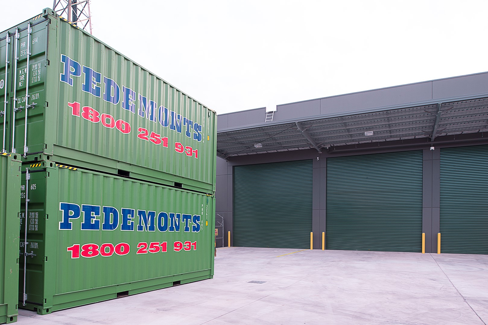 Pedemont Moving and Storage  Chipping Norton, NSW  19,000m2   Client: Texco Constructions