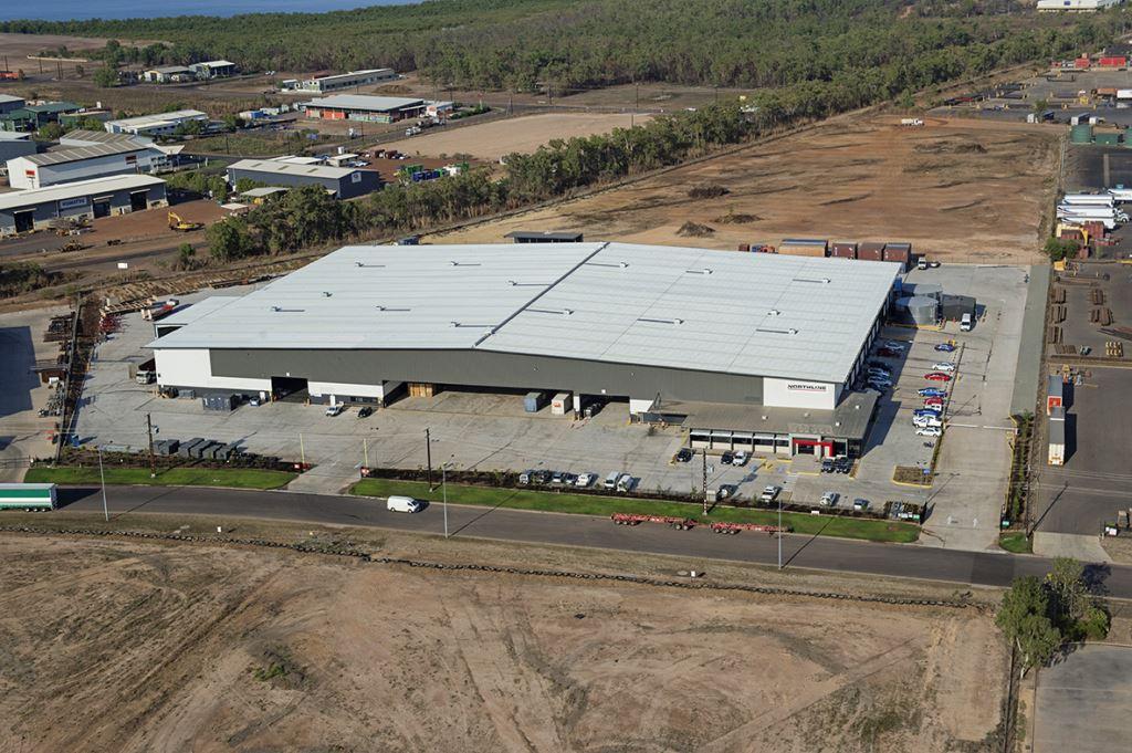 Northline  East Arm, NT  16,500m2   Client: Vaughan Constructions