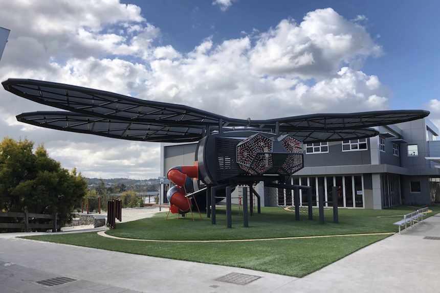 Beaconhills Dragonfly  Berwick, VIC  Client: Beaconhills College Architect: 3D Design