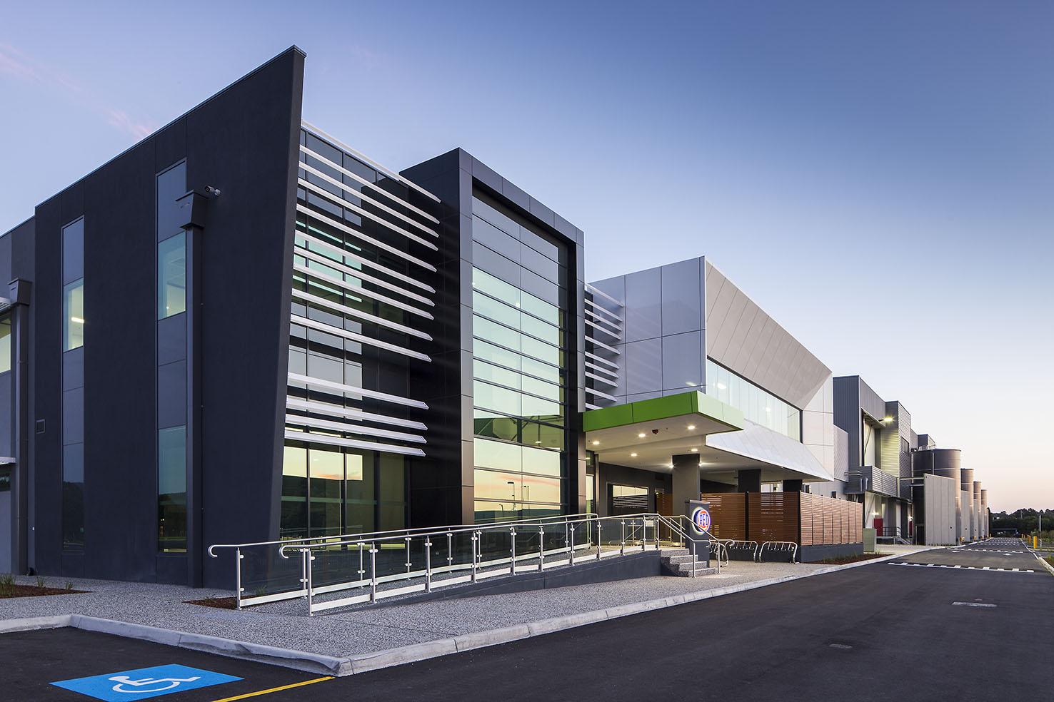 PFD  Knoxfield, VIC 25,000m2  Architect: Vaughan Constructions
