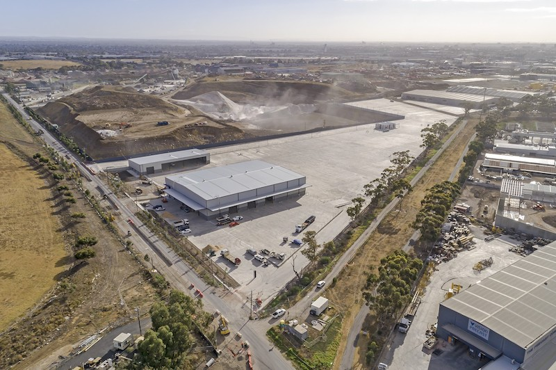 Cosco  Brooklyn, VIC  5,000m2 Warehouse, 60,000m2 Pavements Client: Texco