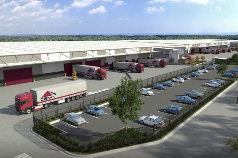 CEVA Logistics Warehouse  Derrimut, VIC  90,000m2 Client: Frasers Property