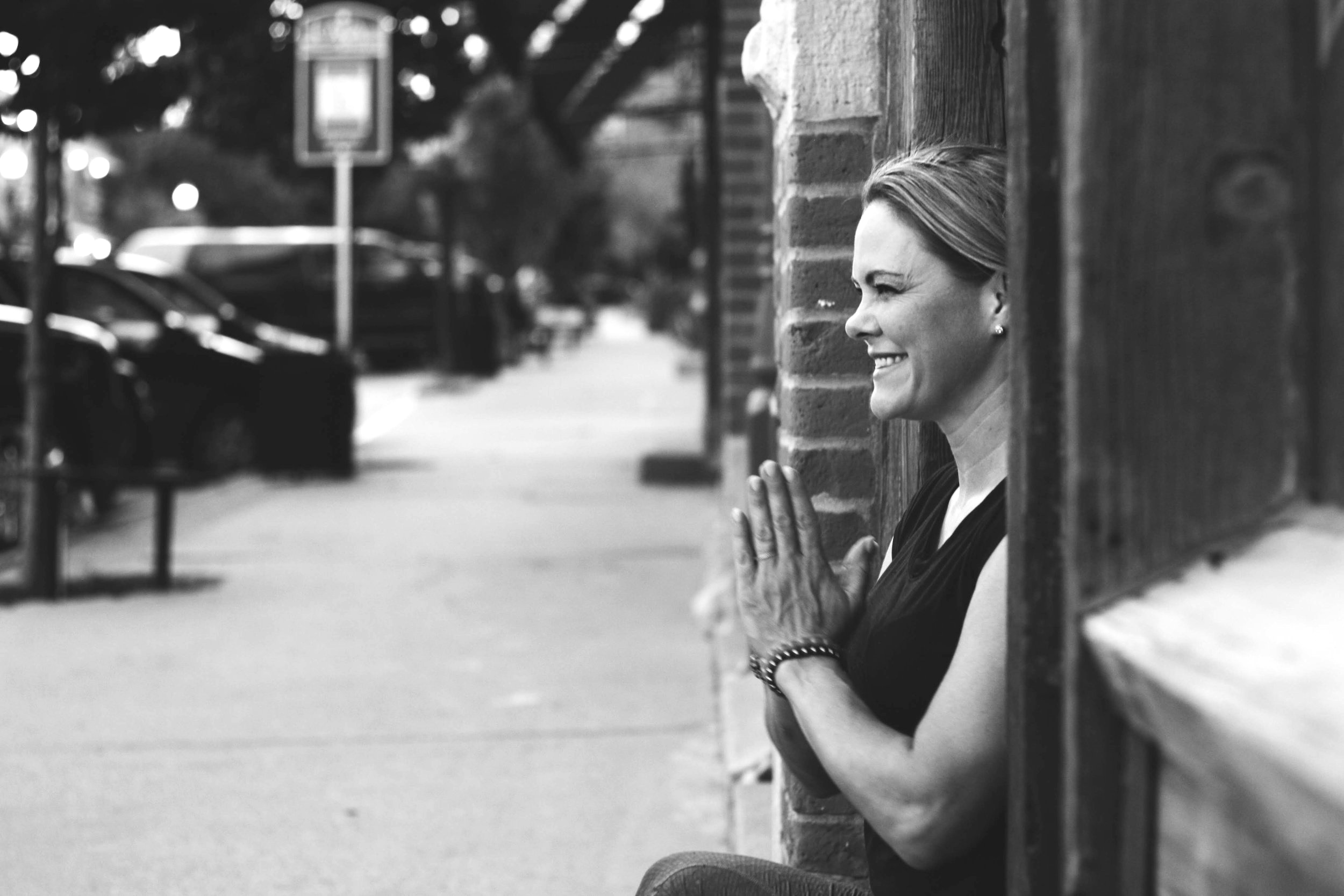 Andrea is such an amazing teacher. It is a blessing and an honor for her to be leading the restorative session. She is reiki master, has completed Urban Monk training, and is an 500-ERYT in the Anusara style. She is most calm and collected studio owner I've ever met.