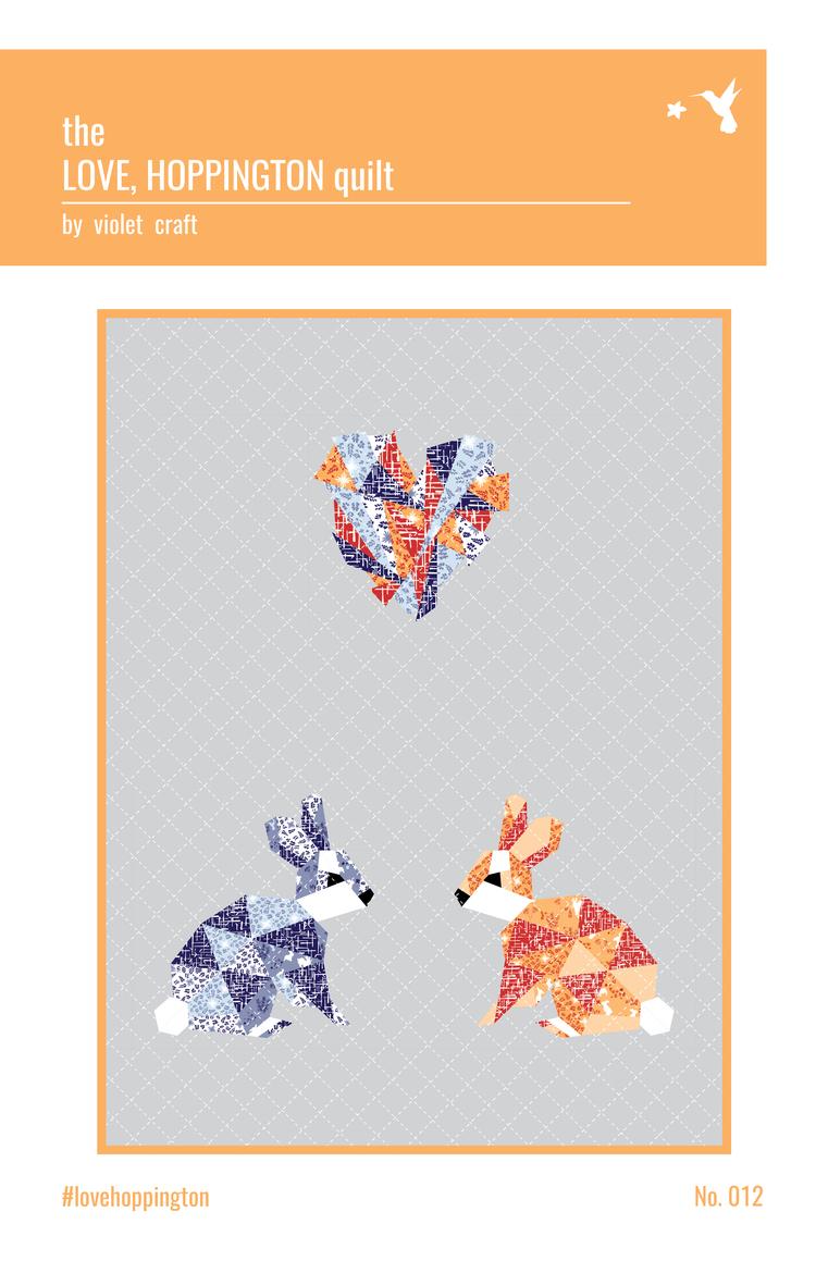 Love, Hoppington Quilt Pattern