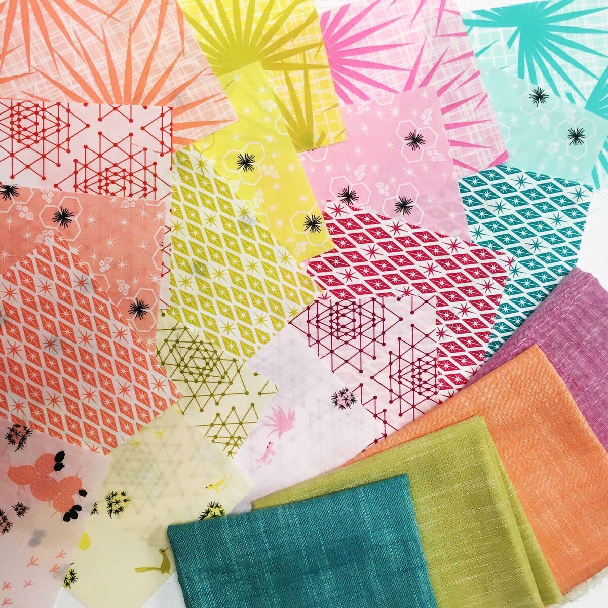 The Fruit Basket EPP Fabric Kit
