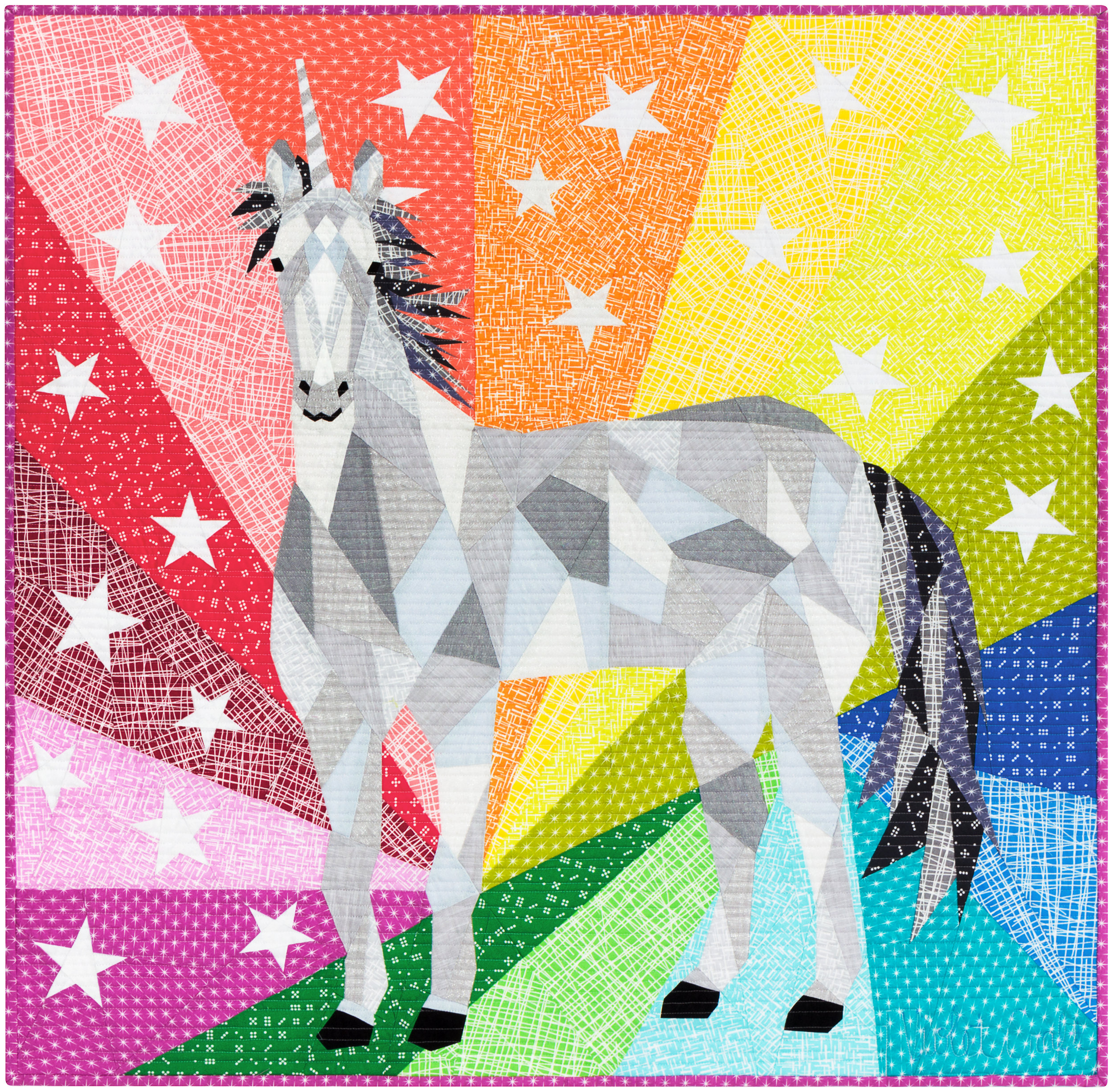VC035_TheUnicornAbstractionsQuilt_Violet Craft Modern Classics_photobyRK.jpg