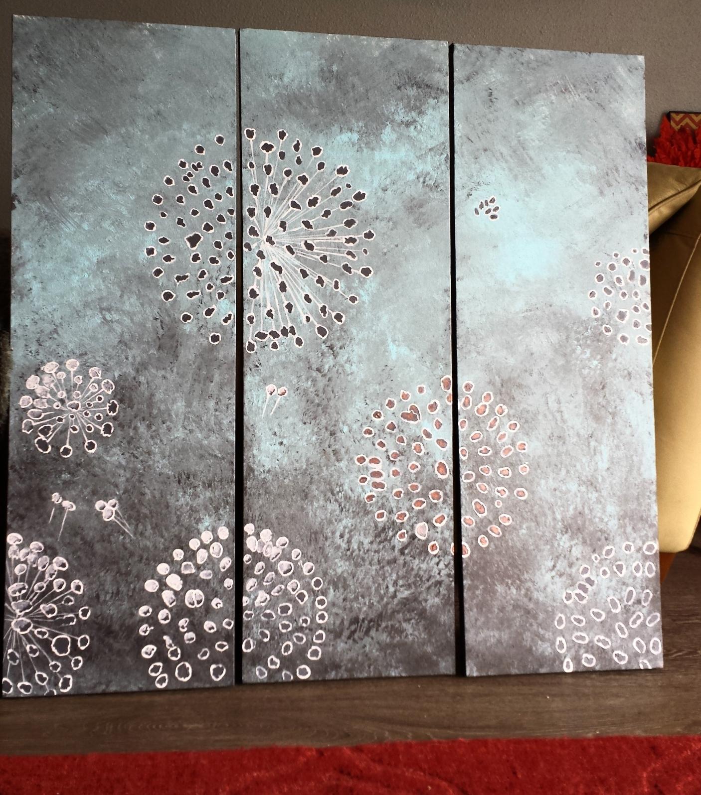Abstract Dandelion Wedding Series