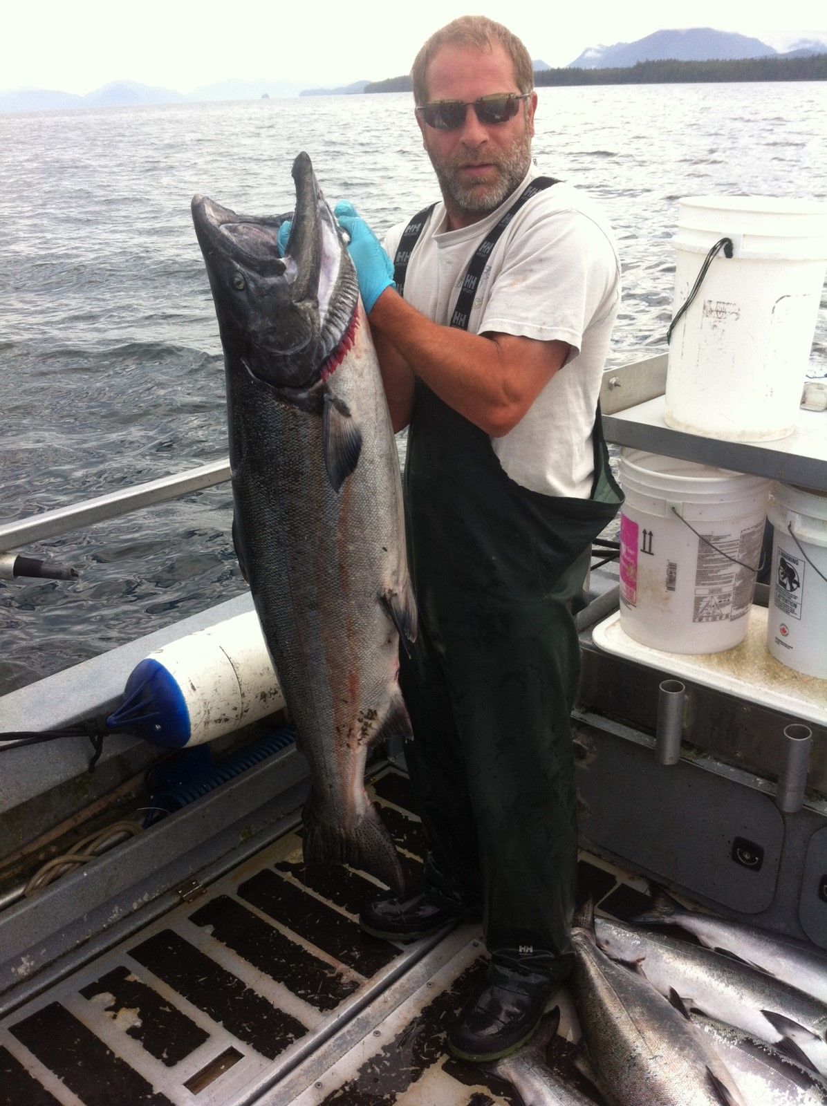 Pro-Staff Paul Toth (owner/operator) Something Fishy Charter in Prince Rupert, B.C.