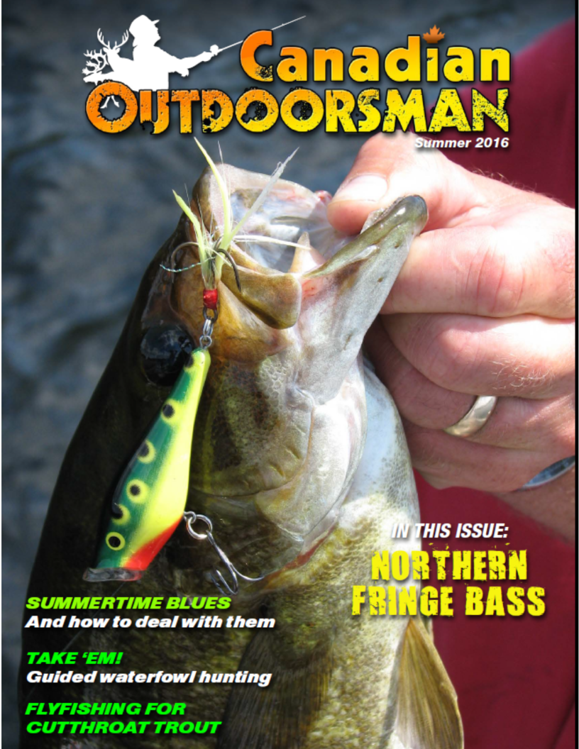 CDN Outdoorman - Summer 2016 Angler's X Files with Rick Crozier Dare To Believe- Part 1 THE INTRODUCTION