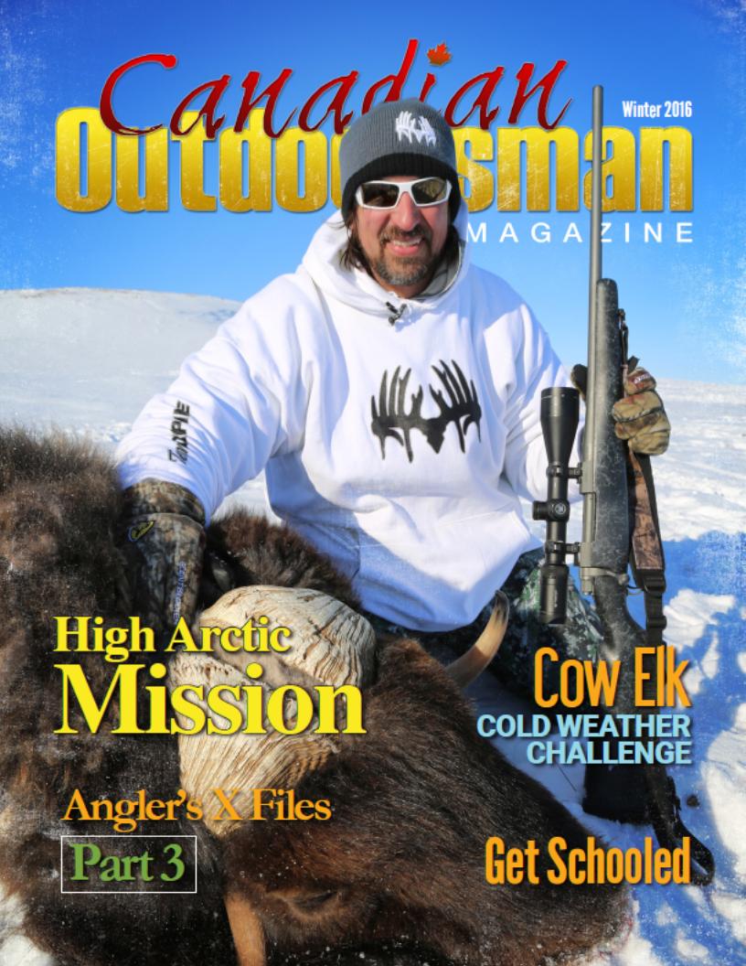 Canadian_Outdoorsman_Magazine - Winter 2016