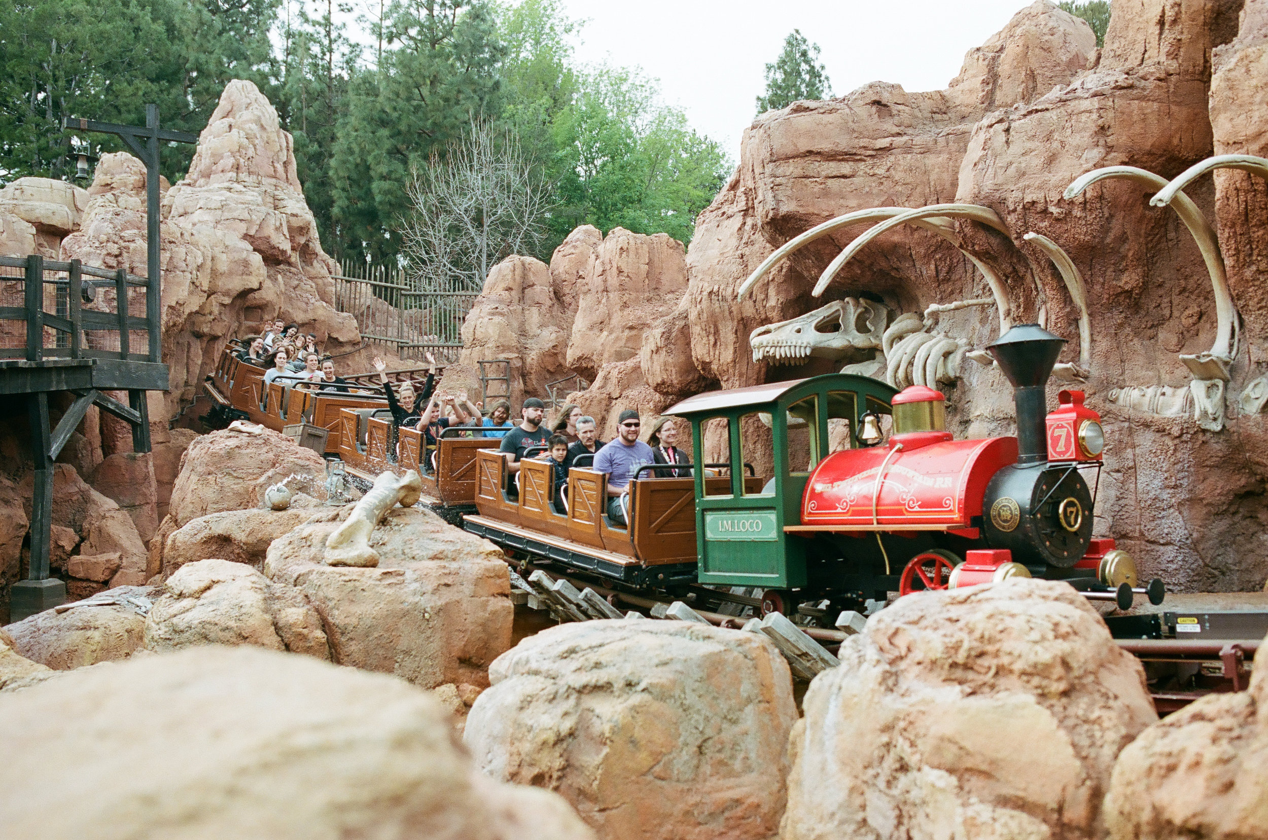 Big Thunder Mountain. Disneyland, CA