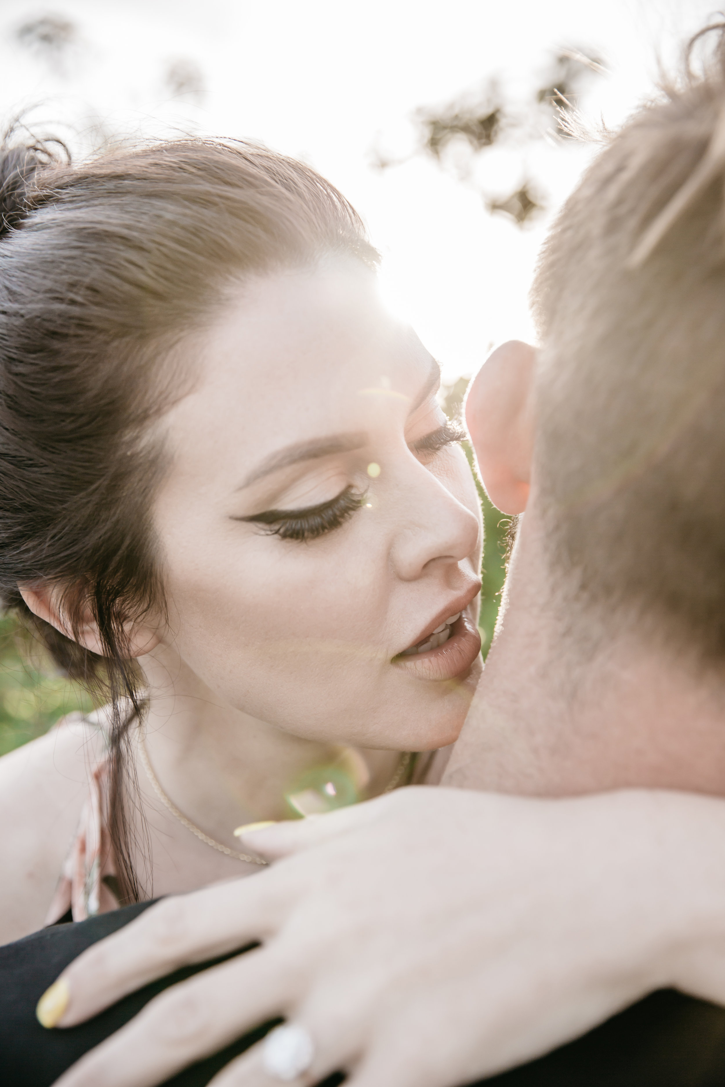 Southern California engagement photography session: Madison and Ian