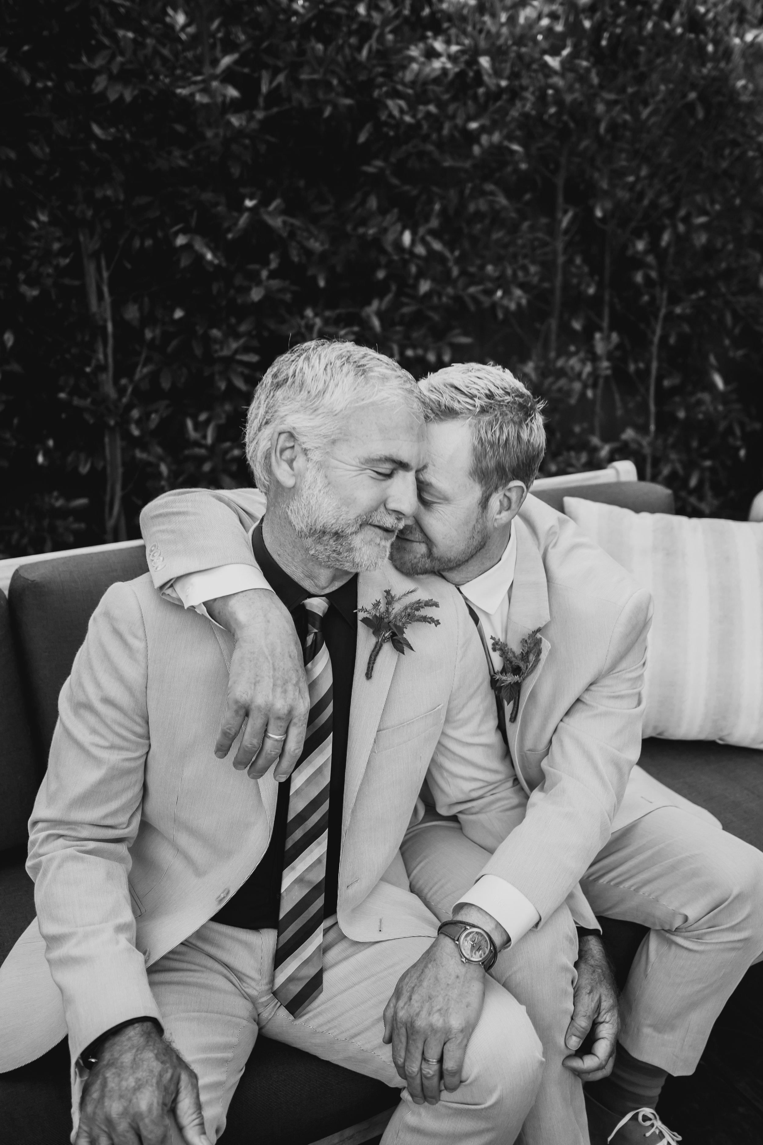 Paul and Steve get married.  Southern California wedding photographer.  Same sex wedding.  Los Angeles wedding.  San Clemente photographer.