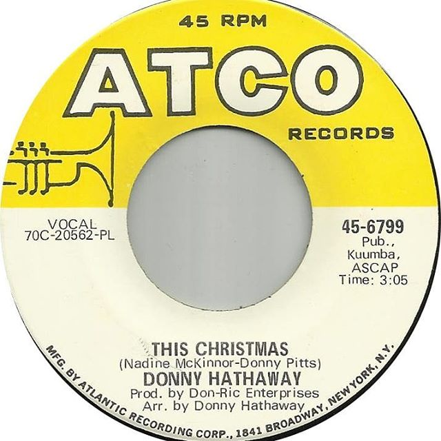 And there can be only one! #DonnyHathaway #ponrepeat #thischristmas #acceptnoimitations
