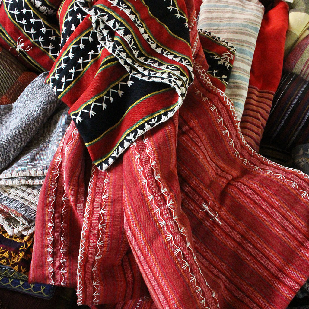 Hand-made textiles made only of Philippine cotton by the Itneg tribe.
