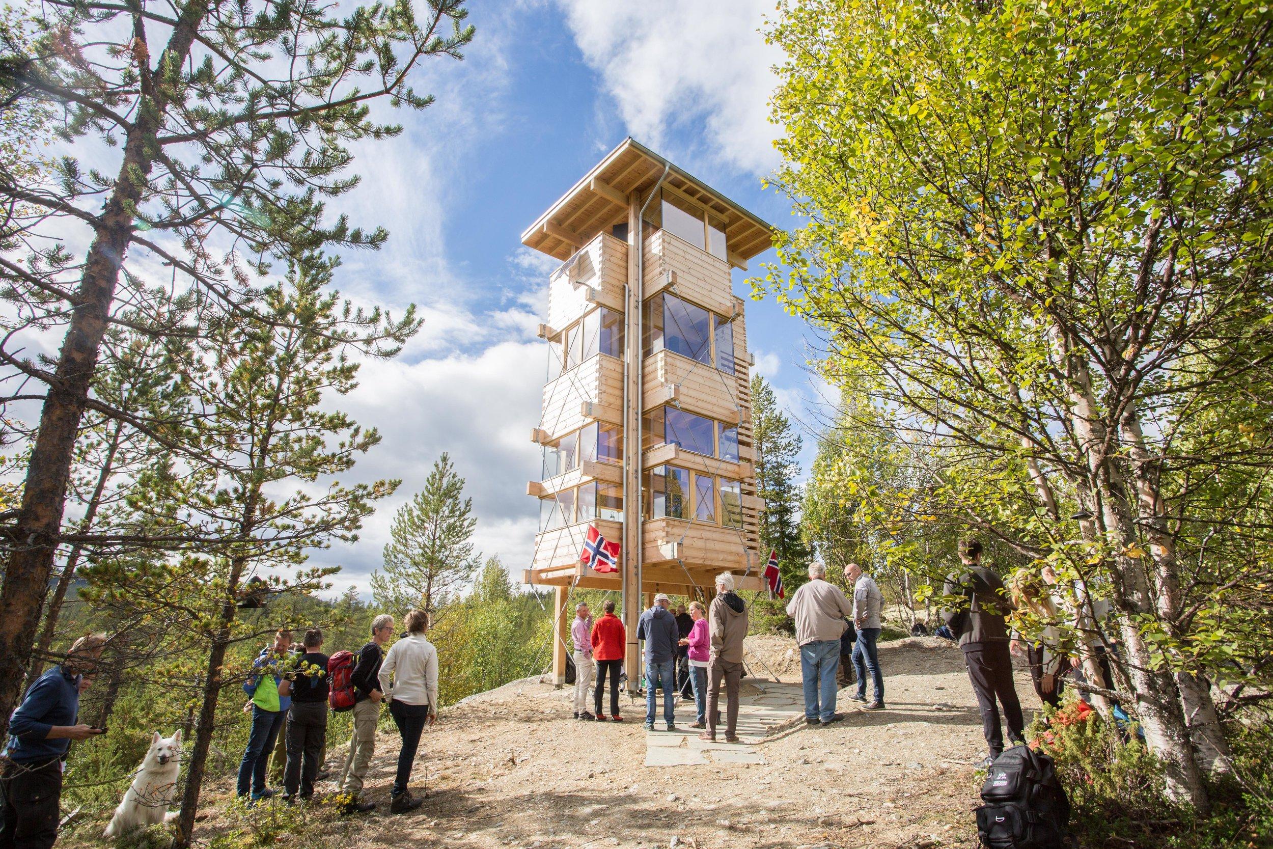 Elgtårnet i Espedalen. www.elgtarn.no