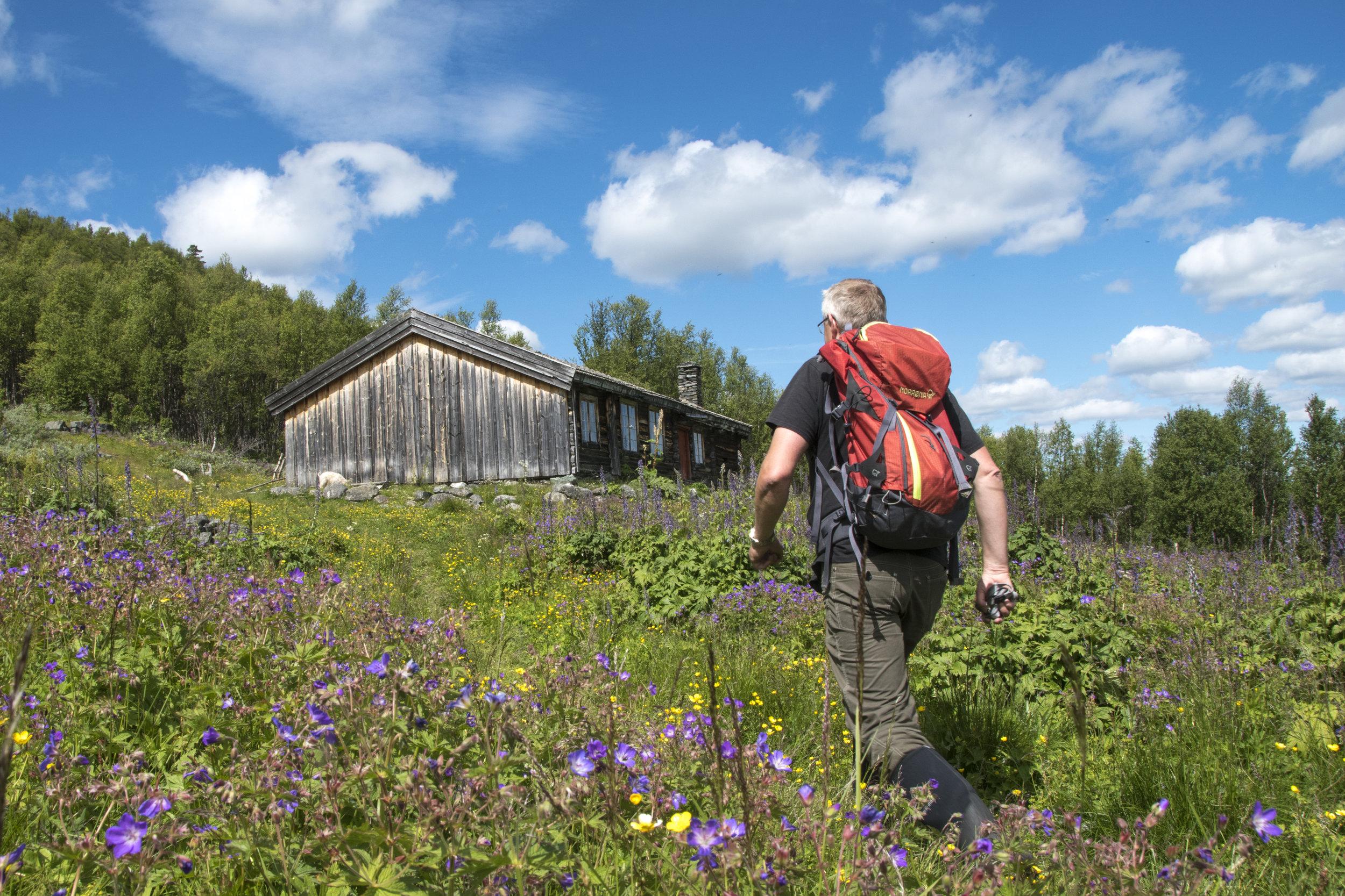 fredrikseter i espedalen. foto: g. e. skog
