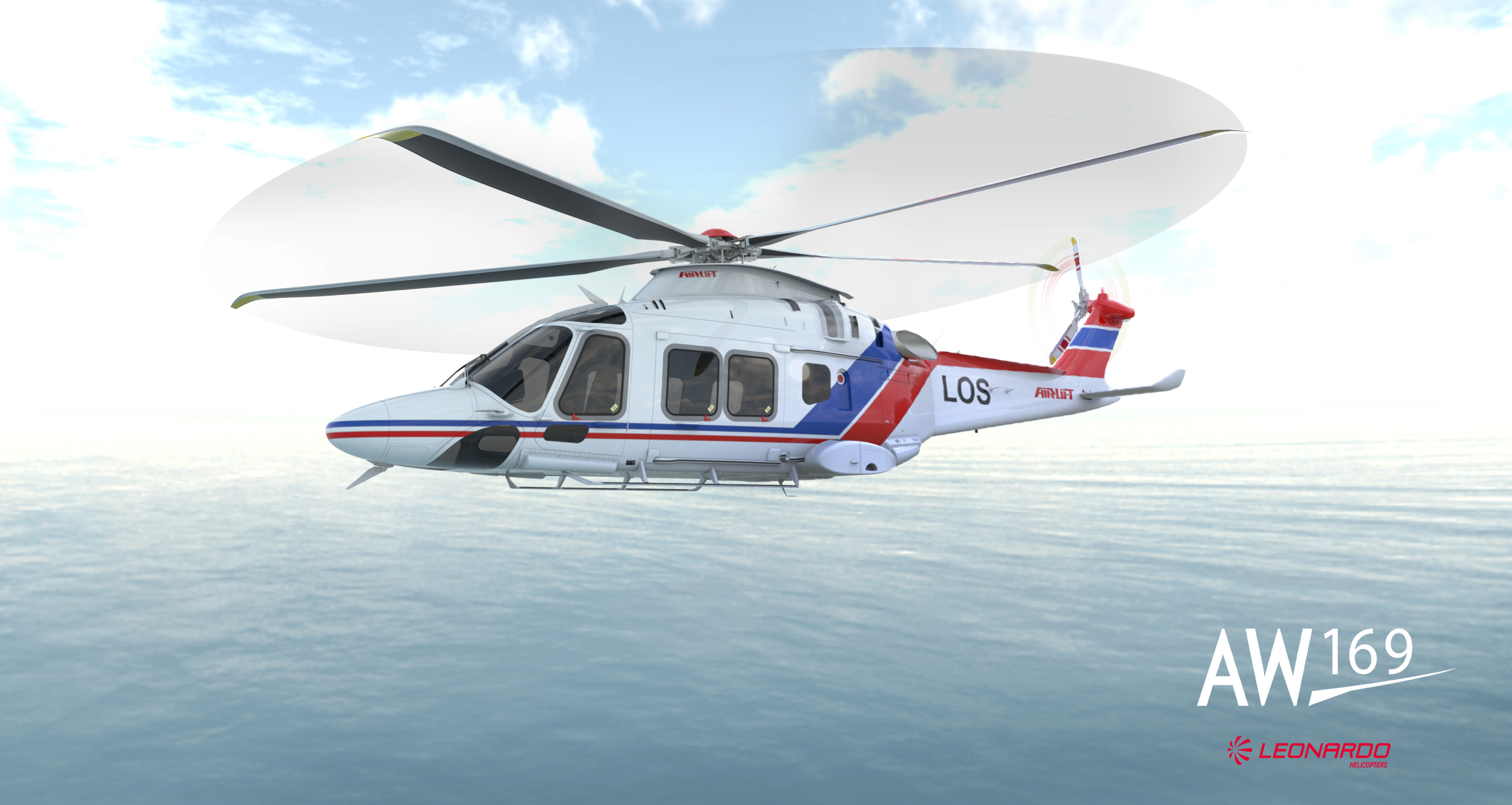 Airlift AS will add 3 AW169 to its fleet.