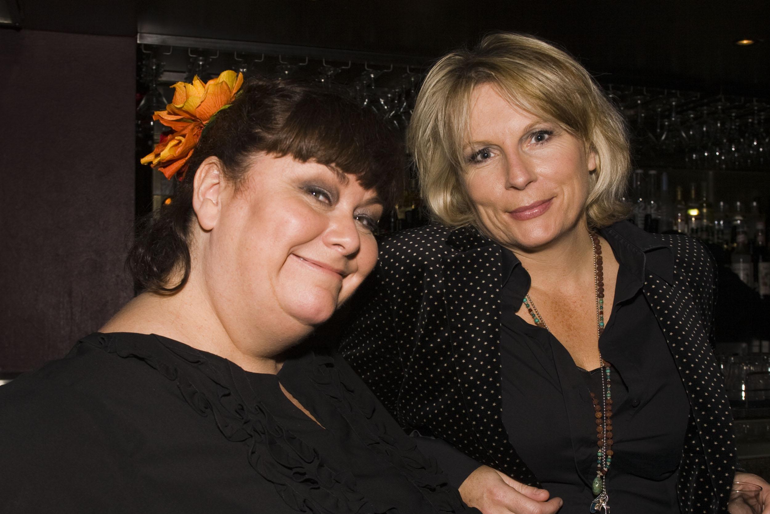 Dawn French & Jennifer Saunders